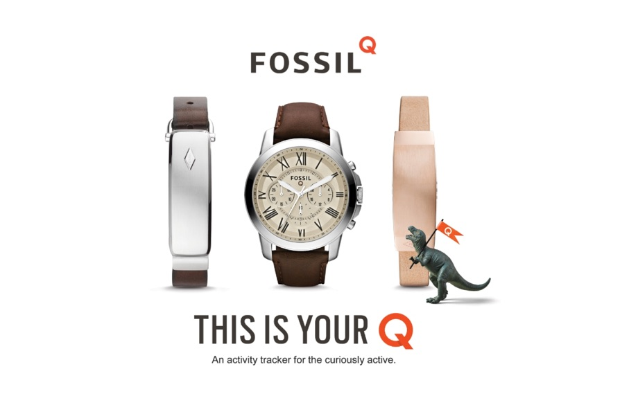 Android CES2016 fitness tracker Fossil smartwatch