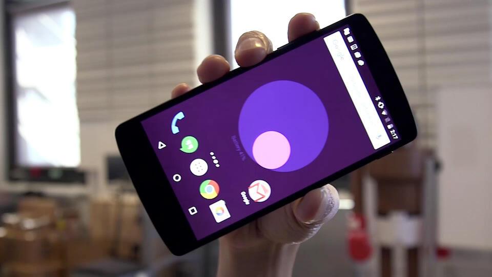 Google Meter: Live-Wallpaper für Android zeigt zusätzliche Informationen an