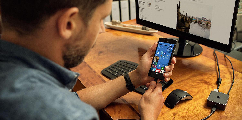 continuum microsoft mobile office Windows