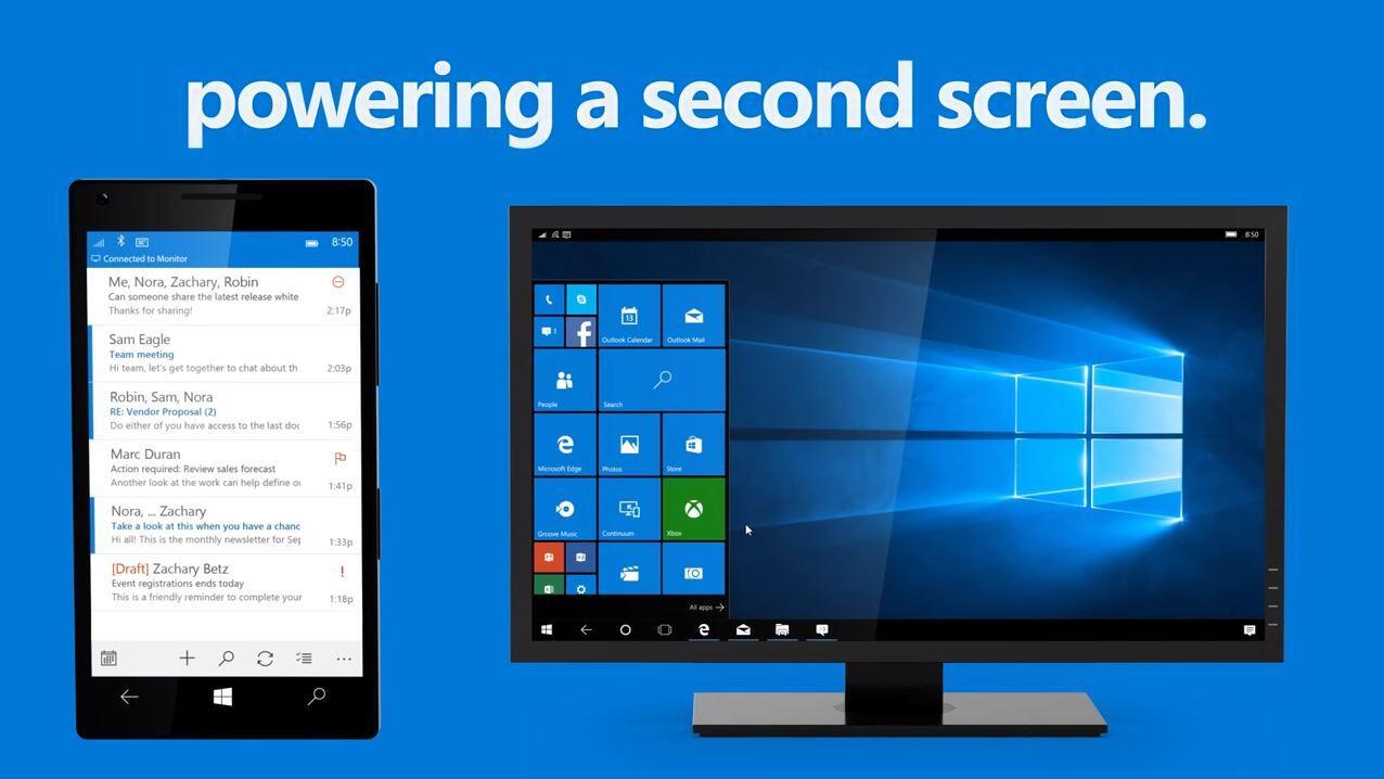 continuum microsoft qualcomm Snapdragon 617 Windows