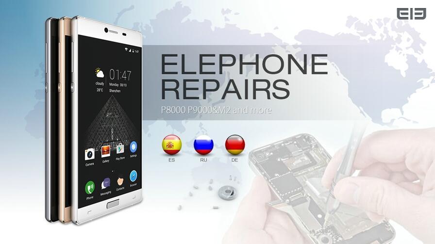 Elephone garantie Reparatur