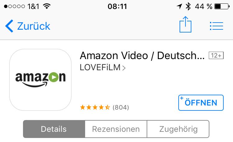 amazon amazon video Apple iOS Update Video
