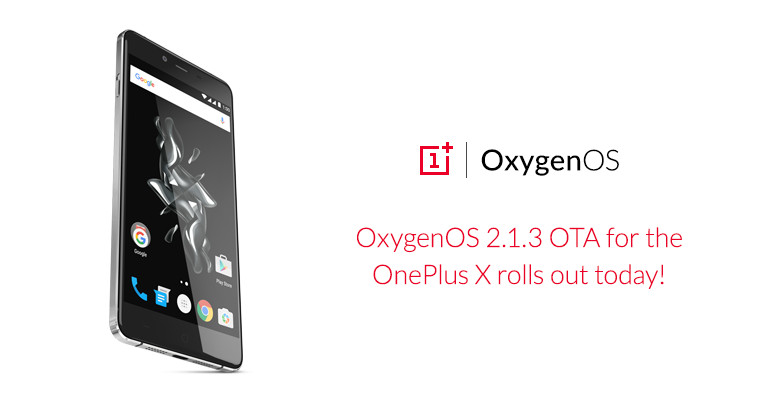 Android oneplus oneplus x oxygenos Update