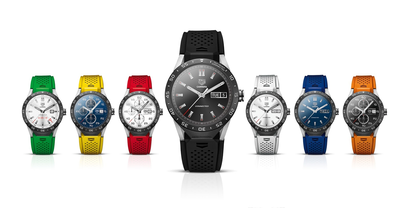 1 Android smartwatch Tag heuer Uhr