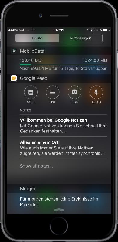 Google keep notes Notizen Update