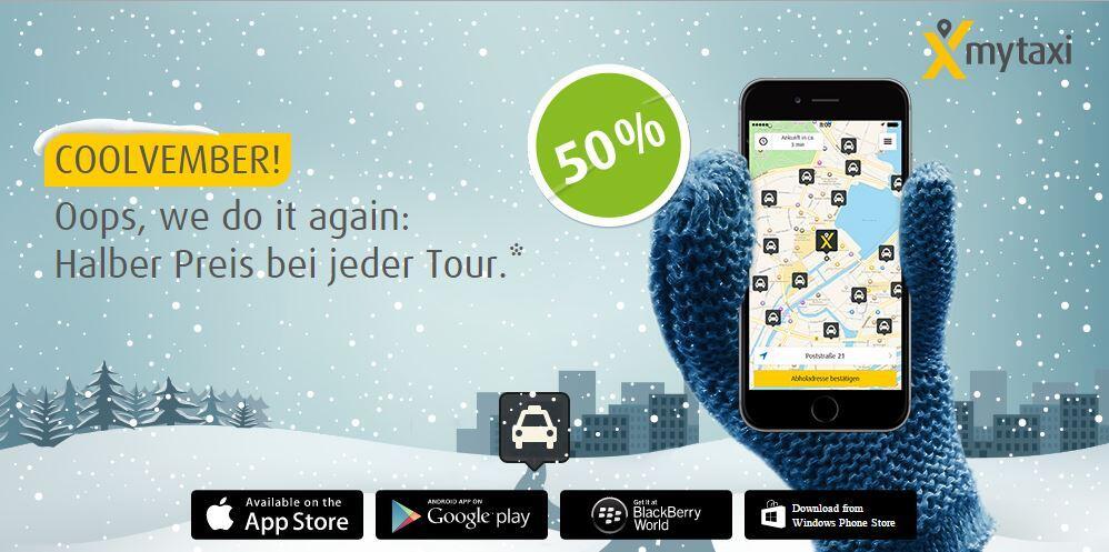 Android deal iOS mytaxi taxi