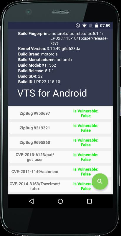Android app Sicherheit