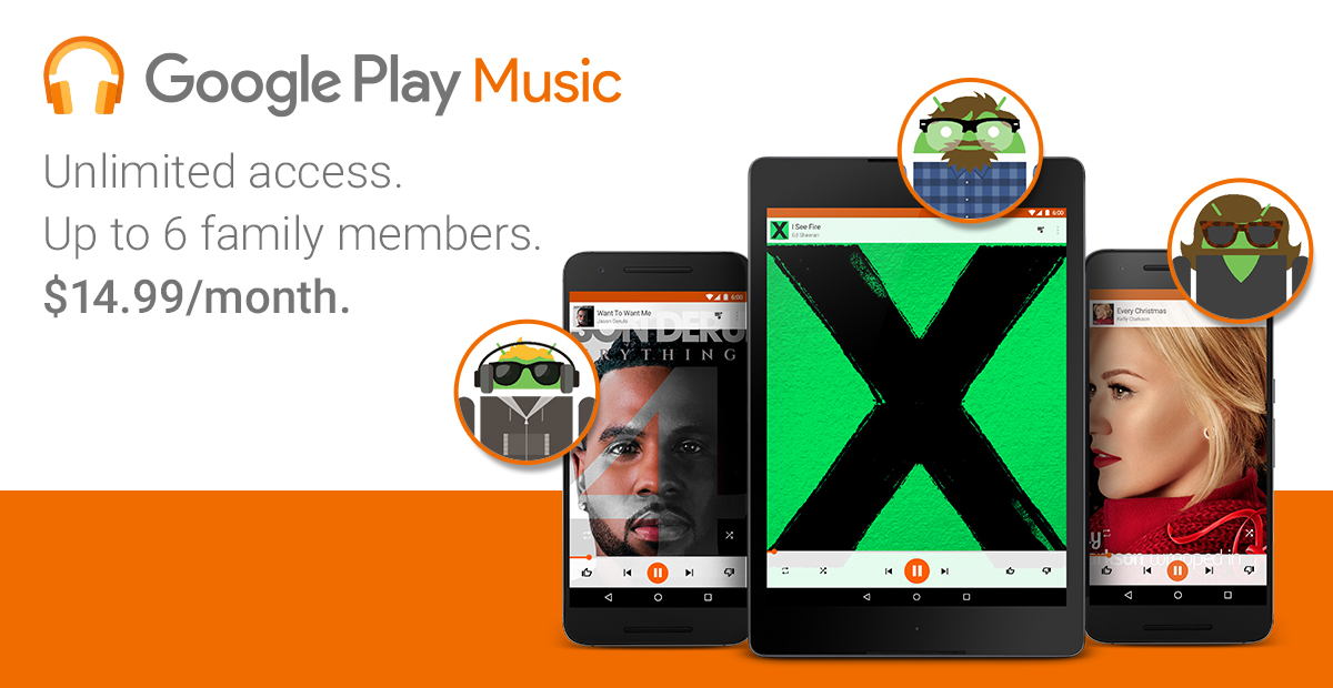 Android Google music Musik streaming
