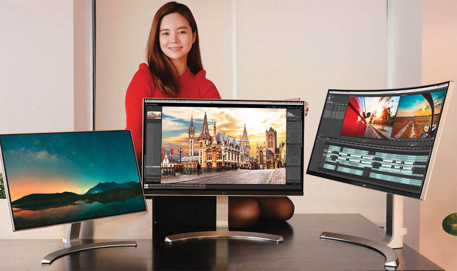 Bildschirm CES2016 LG Monitor