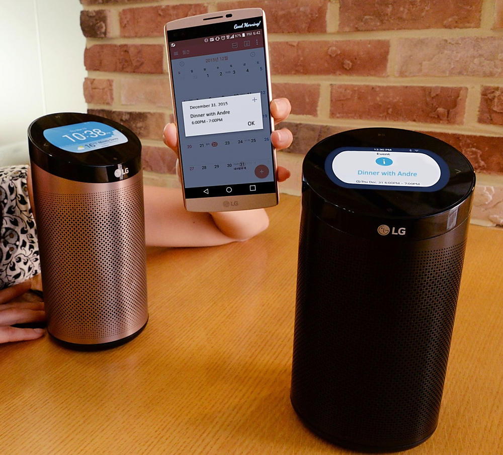 CES2016 LG smart hub