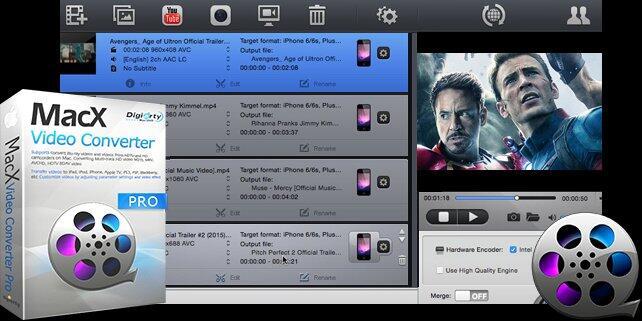 aktion Converter OSX Video