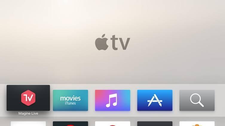 aff app Apple apple tv magine TV