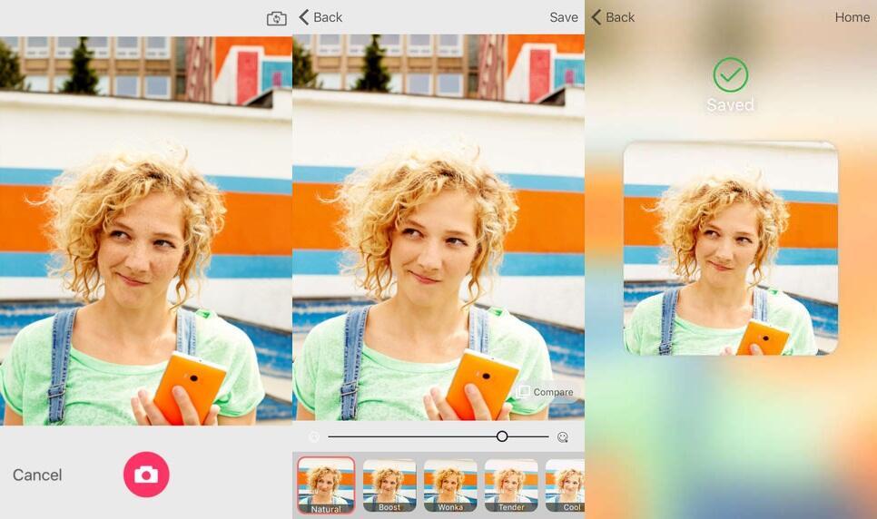 iOS microsoft Microsoft Selfie