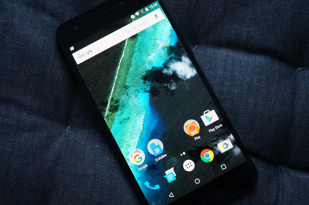 6ß Android Google marshmallow nexus Update