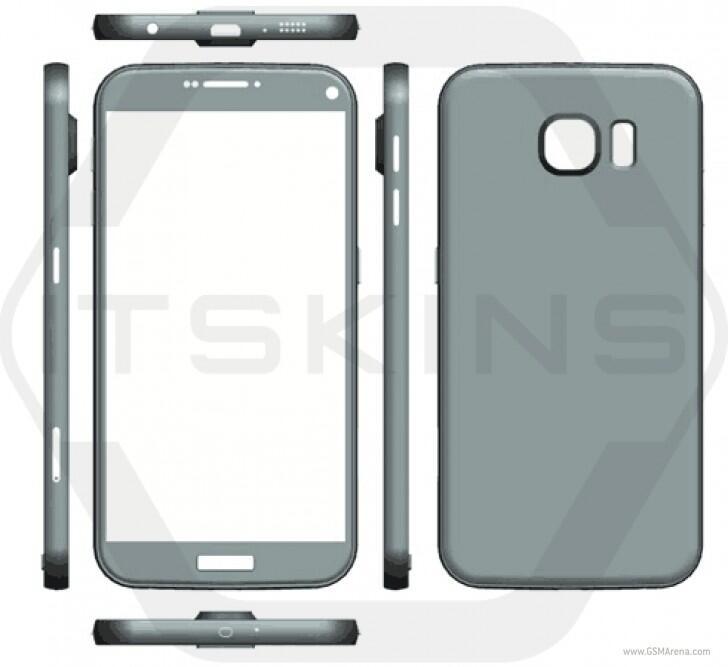Android galaxy größe render s7 Samsung