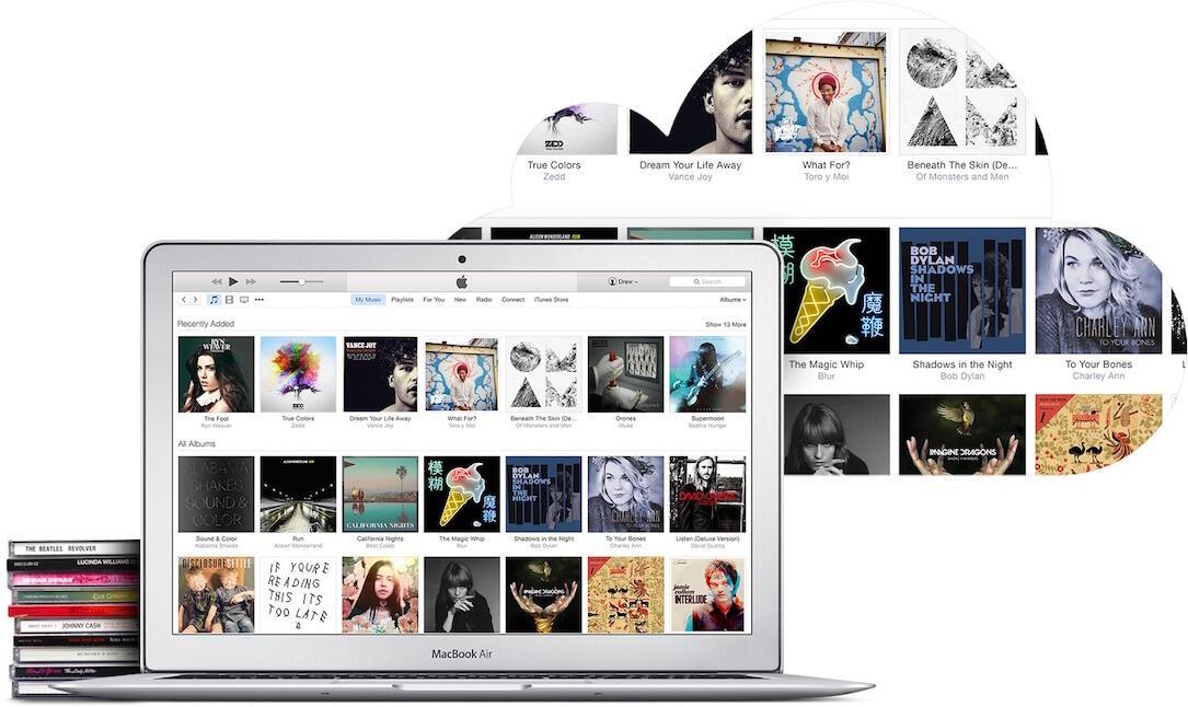 Apple icloud iOS itunes match Musik
