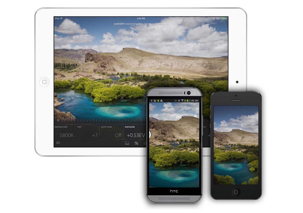 Adobe Android Lightroom Update