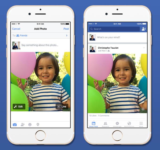 Apple facebook foto Fotos iOS