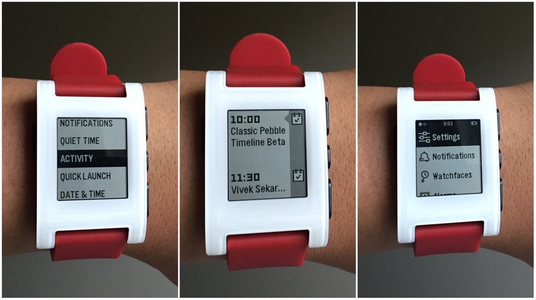 aff Android beta Firmware Pebble timeline