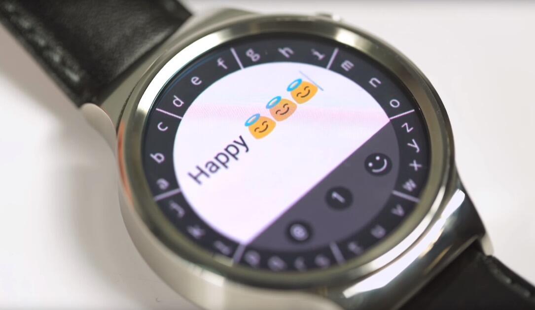 Android Wear app keyboard kickstarter Touch Wearable