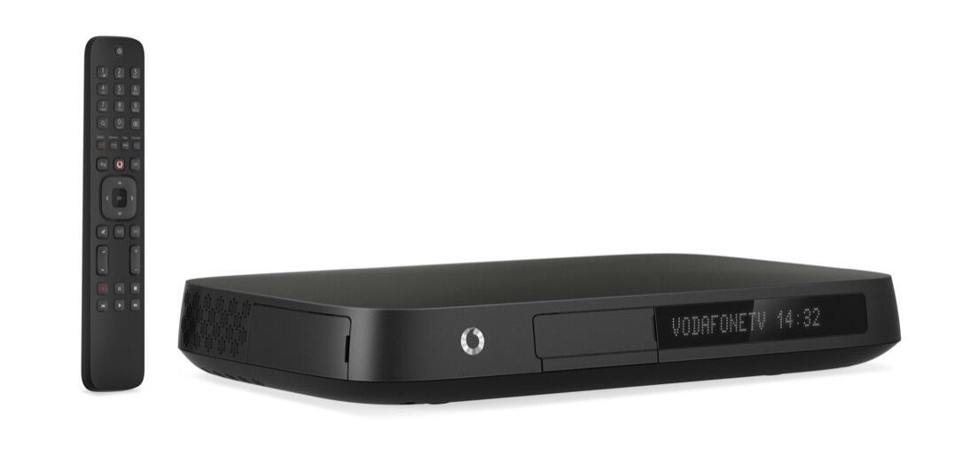 aff box Set-Top-Box TV Vodafone