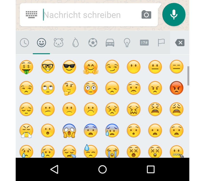 Android download Emoji Google play store whatsapp