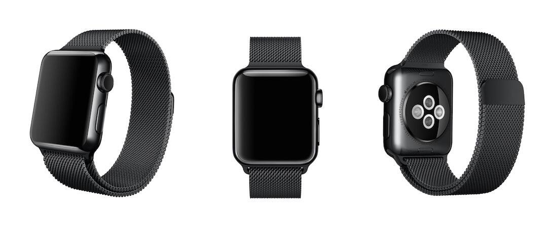 Apple armband iOS schwarz watch