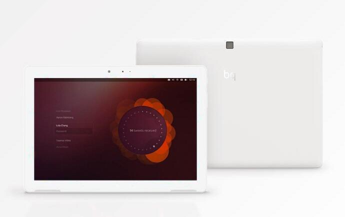 bq MWC2016 tablet ubuntu