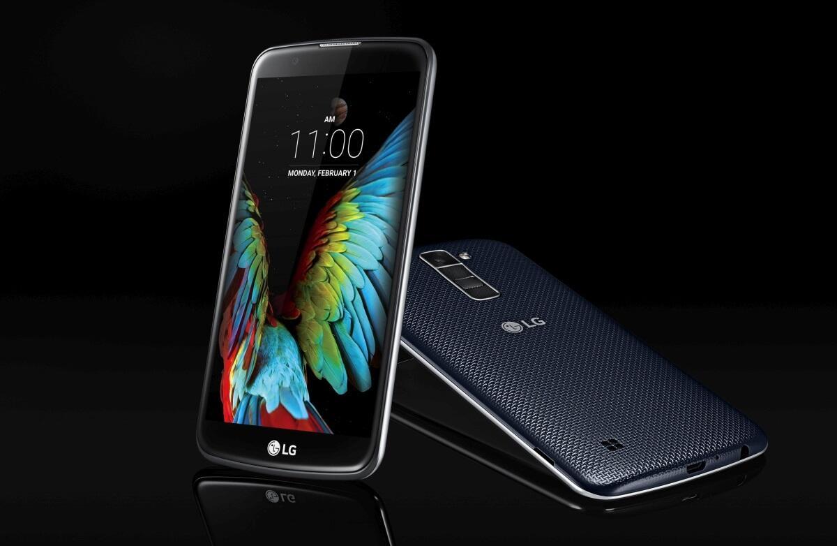 Android CES2016 LG LG K10 LG K7