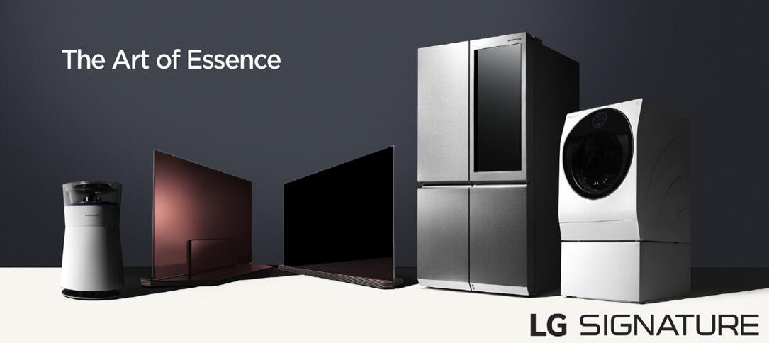 CES2016 LG Signature TV