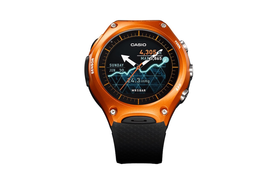 Android casio iOS smartwatch wear