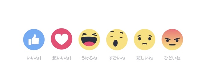 button Emoji facebook gefällt mir like Reaktion