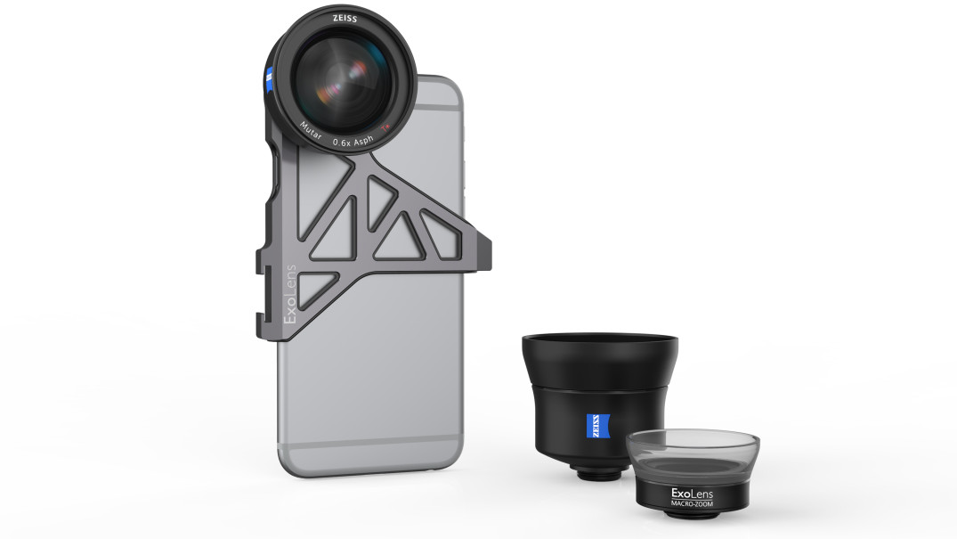 CES2016 iphone Kamera linse Objektiv Zeiss