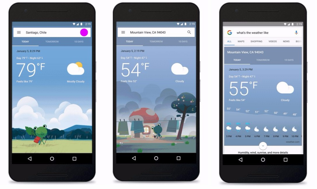 1 Android app Google Wetter