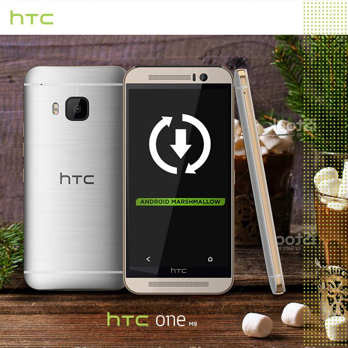 1 Android HTC m9 marshmallow one Update
