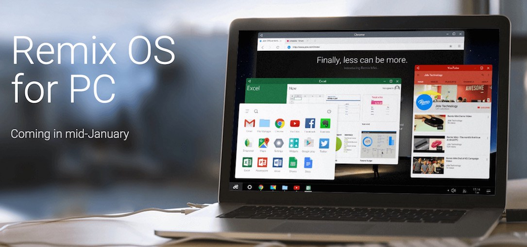 Android intel pc Remix OS