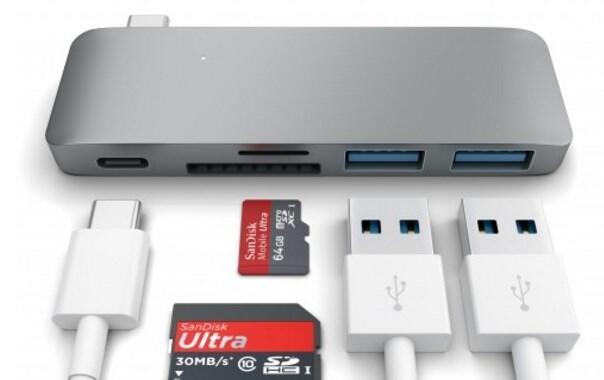 2015 aff macbook SD-Kartenleser Typ C usb