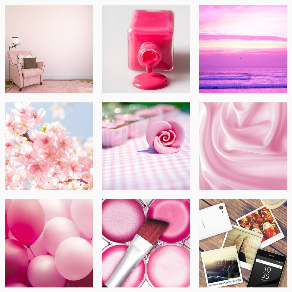 Android pink Sony Xperia