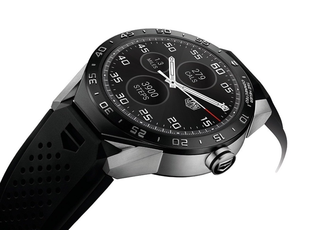 Android connected Google smartwatch Tag heuer wear