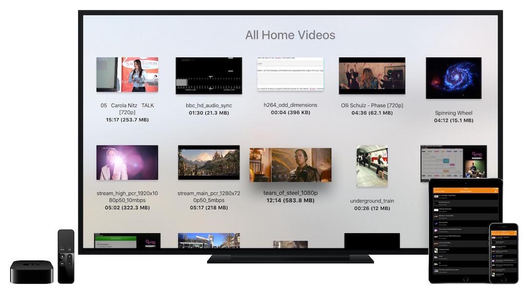 app Apple iOS media player TV tvos vlc