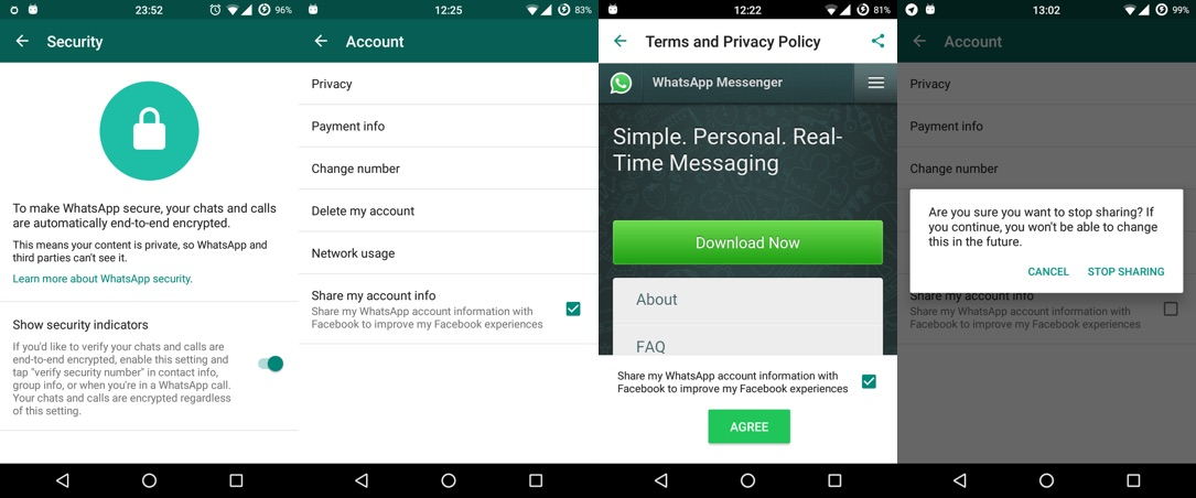 Android facebook root Update whatsapp