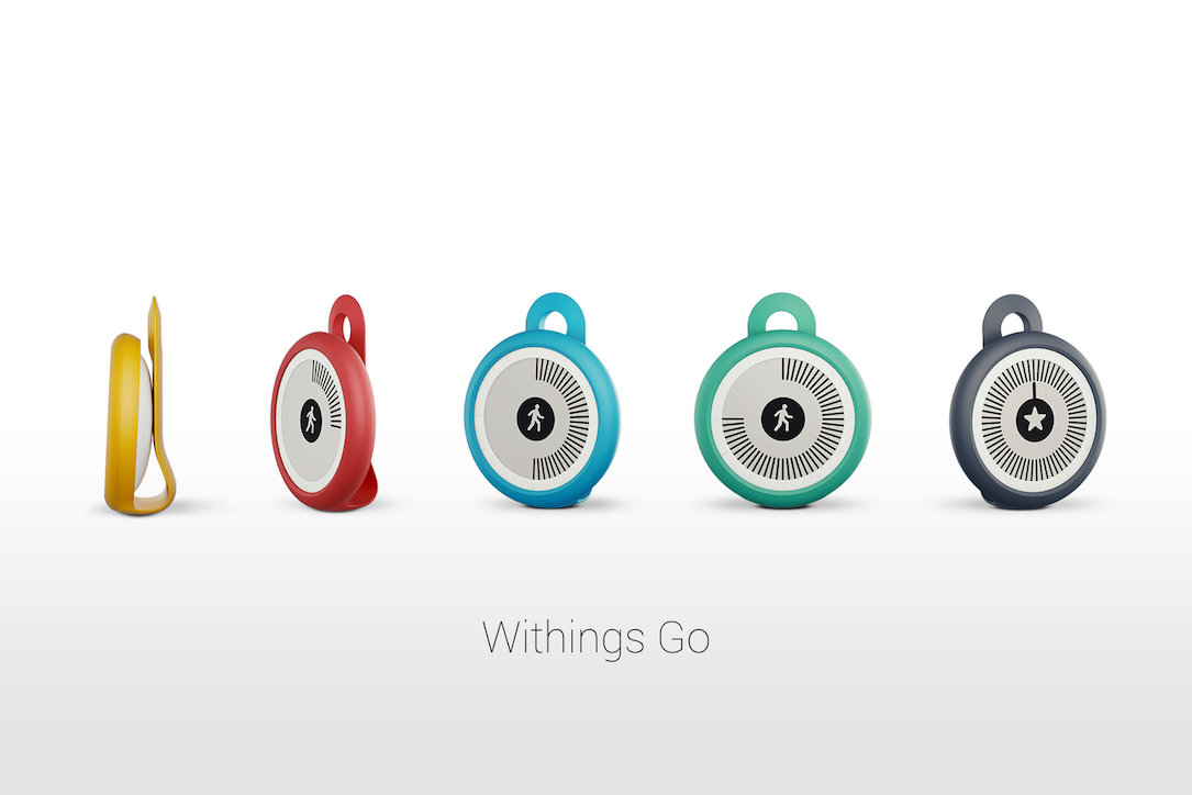 Android CES2016 fitness go iOS tracker withings