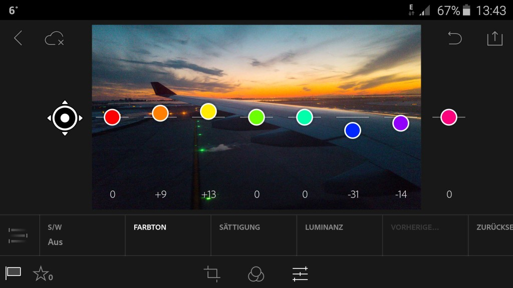 2.0 Adobe Android bildbearbeitung Lightroom
