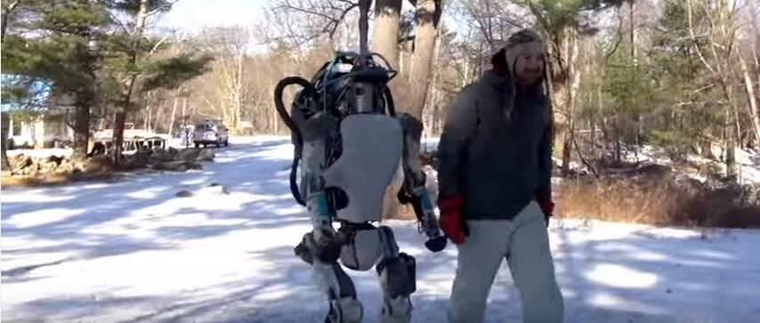 Google KI roboter Video