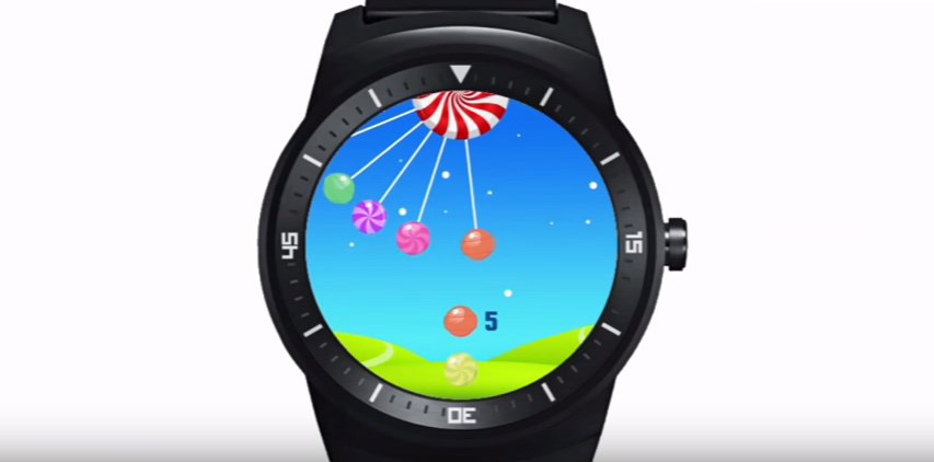 Android Candyland Game watch wear