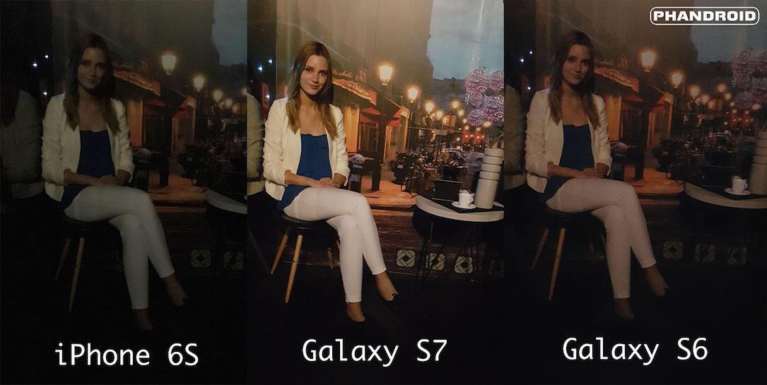 6s Android Apple galaxy iphone Kamera MWC2016 s6 s7 Samsung test vergleich