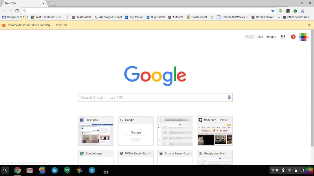 Chrome browser material design k nnte mit version 50 kommen - Google home page design ...