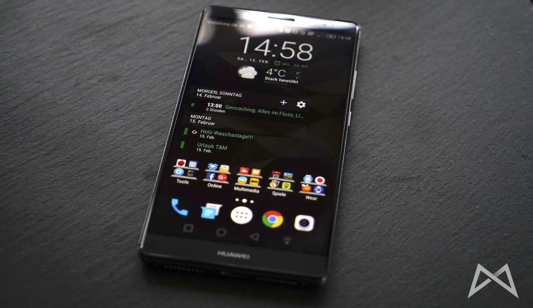 1 Android eindrücke Huawei Mate 8 review test