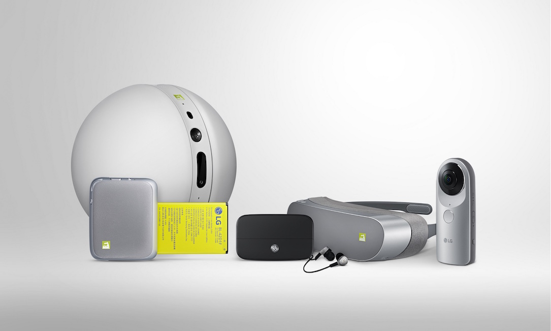 Android friends g5 LG MWC2016 vr