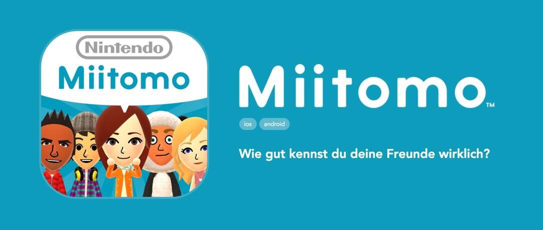 Android iOS miitomo Nintendo